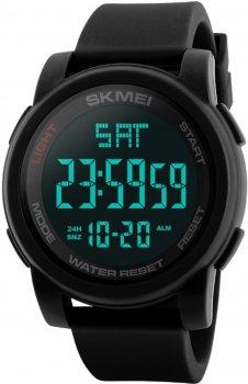 Чоловічий годинник Skmei 1257 Black BOX (1257BOXBK)