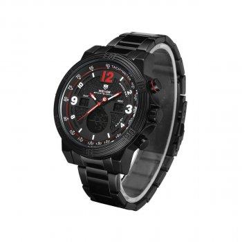 Мужские часы Weide Red WH6908B-2C SS (WH6908B-2C)