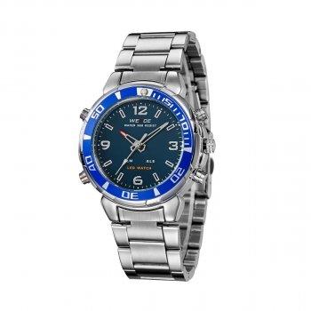 Чоловічий годинник Weide Blue WH843-3C SS (WH843-3C)