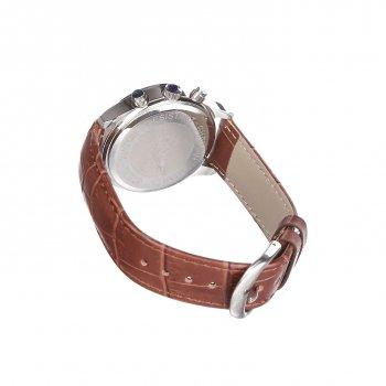Мужские часы Guanqin Silver-White-Brown GQ12002-1A CL (GQ12002-1ASWBr)