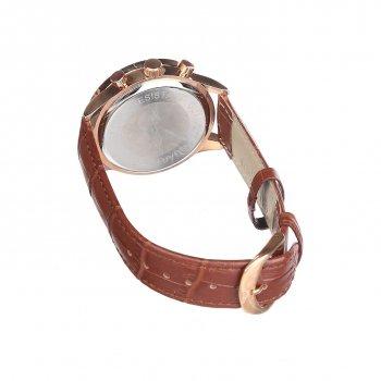 Мужские часы Guanqin Gold-White-Brown GQ001 CL (GQ001GWBr)