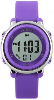 Жіночий годинник Skmei 1100 Purple BOX (1100BOXPP)