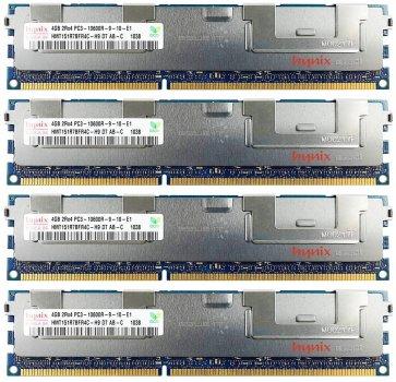 Оперативна пам'ять Fujitsu DDR3-RAM 16GB 4x4GB PC3-10600R ECC 2R (S26361-F4003-L644) Refurbished