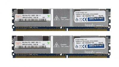 Оперативная память Hypertec DDR2-RAM 16GB-Kit 2x8GB PC2-5300F ECC 2R (413015-B21-HY) Refurbished