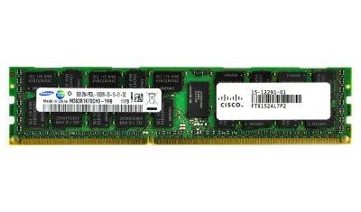 Оперативна пам'ять Cisco DDR3-RAM 8GB PC3L-10600R ECC 2R LP (15-12291-01) Refurbished
