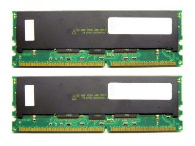 Оперативная память IBM DDR-RAM 2GB Kit 2x1GB/PC1600R/ECC/CL2 (33L3286) Refurbished