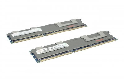 Оперативна пам'ять Fujitsu DDR3-RAM 16GB 2x8GB PC3L-10600R ECC 2R LP (S26361-F4523-R623) Refurbished