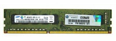 Оперативна пам'ять HP DDR3-RAM 4GB PC3-10600E ECC 2R (500210-571) Refurbished