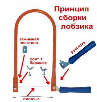 Школьный набор: Лобзик ручной + 50 Пилочек (0028-42)
