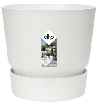 Вазон Elho Greenville Round 25 см Білий (332235)