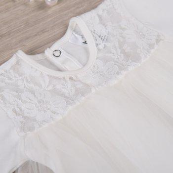 Боди-платье BetiS Нежность Молочное