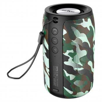 Портативна Колонка ZEALOT S32 Camouflage бездротова 2000 мАч 10 метрів 5 Вт радіо блютуз 5.0 MP3