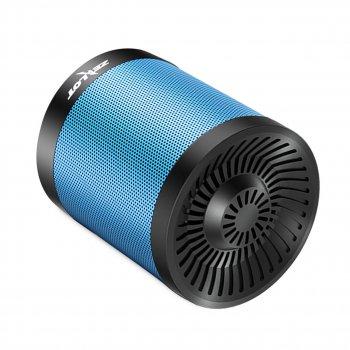 Портативна колонка ZEALOT S5 Blue блютуз 4.0 Радіо 5 Вт міні динамік