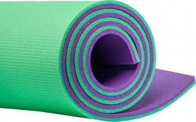 Килимок для фітнесу Champion 180х60х1.2 см Зелено-фіолетовий (A00250)