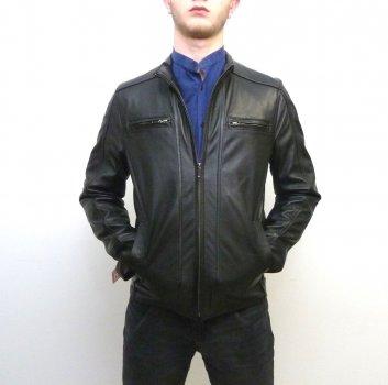 Чоловіча куртка Eleganza з натуральної шкіри. Модель BOSTON