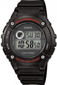 Наручний чоловічий годинник Casio W-216H-1AVEF