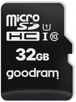 Goodram microSDHC 32GB Class 10 UHS I + SD adapter (M1AA-0320R12)