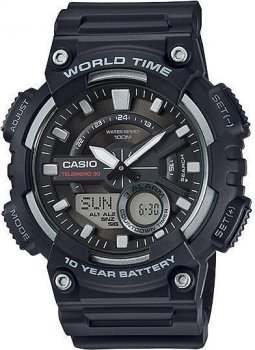 Наручний чоловічий годинник Casio AEQ-110W-1AVEF