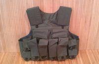 Бронежилет Body Armor з пластинами 4-й клас Відкритий З розвантаженням