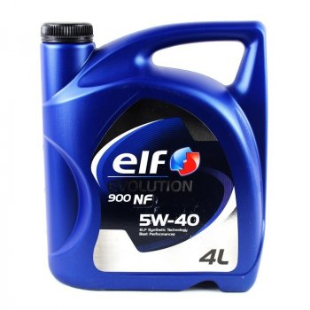 Моторное масло Elf Evolution 900 NF 5W-40 4 л (194873)