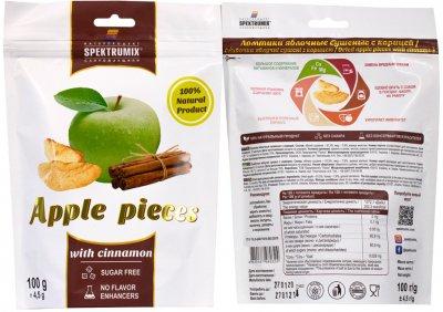 Упаковка скибочок яблучних з корицею Spektrumix 2 шт. х 100 г (2000000006260)