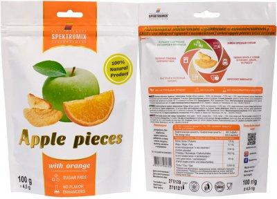Упаковка скибочок яблучних з апельсином Spektrumix 2 шт. х 100 г (2000000006109)