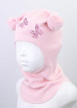 Шапка-шлем детский для девочки Beezy весна - осень 2026-01-20 модель Белка р. 1 (47-49 см)