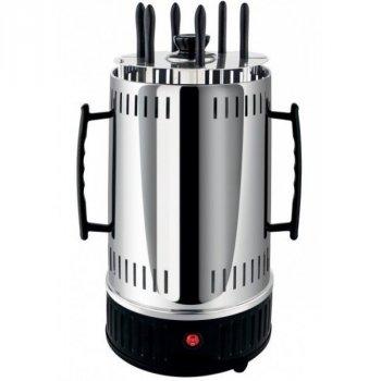 Электрошашлычница Domotec BBQ на 6 шампурів 1000W