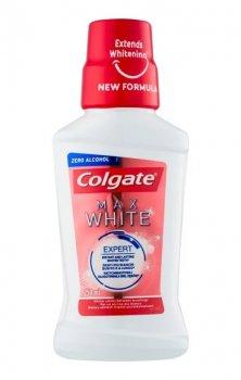 Colgate Max White відбілююча рідина для полоскання ротової порожнини без алкоголя (250 мл)