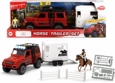 """Игровой набор Dickie Toys """"Плейлайф. Перевозка лошадей"""" со звуком и световыми эффектами (3838002)"""