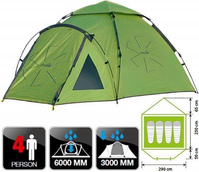 Палатка Norfin HAKE 4 NF (NF-10406)