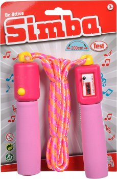 Скакалка со счетчиком Simba Toys с музыкальным эффектом 5+ (7305263)