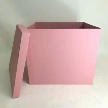 Коробка-сюрприз без печатки DonShar Premium 700*700*700 мм Рожева