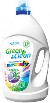 Гель для стирки Green&Clean Ultra Intensive цветной одежды 4 л (4823069702625)