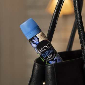 Парфюмированный дезодорант для женщин Yardley Bluebell & Sweet Pea Deodorising Body Spray 75 мл (5056179301597)