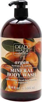 Гель для душа Dead Sea Collection с аргановым маслом 1000 мл (7290102259397)