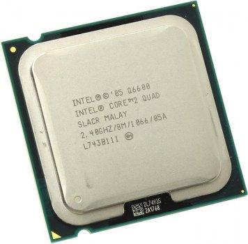 Б/У, Процесор Core 2 Quad, Q6600, 8 МБ, 2,40 GHz, 1066 GHz