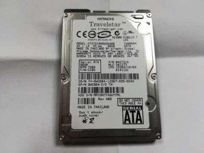 """Б\У Жорсткий диск для ноутбука, 2.5"""", SATA, 80GB, Hitachi"""