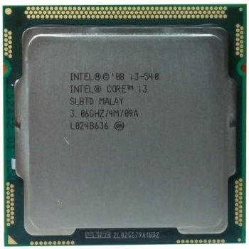 Б/У, Процесор, Intel® Core™ i3-540, 4 МБ, 2 ядра, 4 потоку, 3,06 GHz