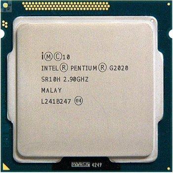 Б/У, Процесор, Intel Pentium G 2020 s1155, 3M Cache, 2.9 GHz