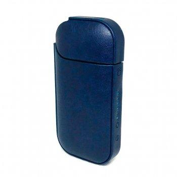 Чохол для IQOS 2.4 Plus PU Leather Case Синій