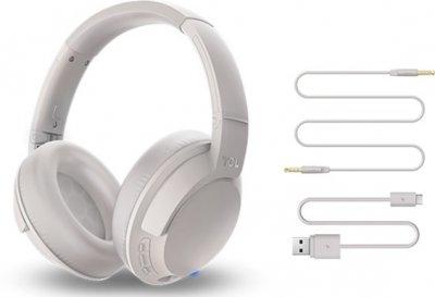 Навушники TCL ELIT400BT Bluetooth Cement Gray (ELIT400BTWT-EU)