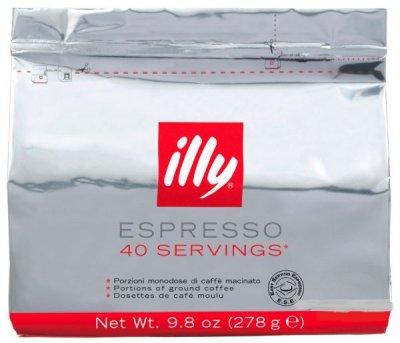 Кофе в монодозах ILLY Espresso пакет MEDIUM 40 шт
