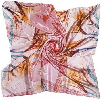 Платок Supretto 5667-0002 90х90 см Розовый (2000100049907)