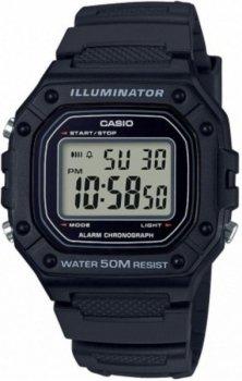 Чоловічий наручний годинник Casio W-218H-1AVEF