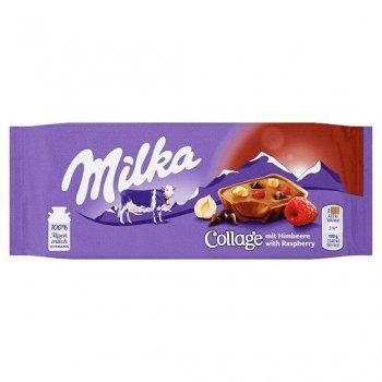 Шоколад Milka Collage Raspberry 93 g