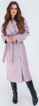 Пальто NikTan 1076 Рожеве
