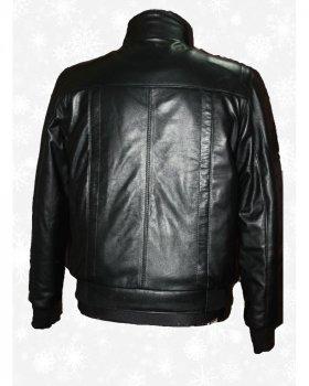Куртка чоловіча шкіряна Verona 133 Чорний