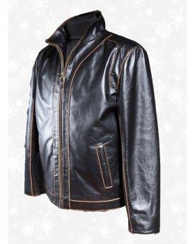 Куртка чоловіча шкіряна Verona 22 Чорний