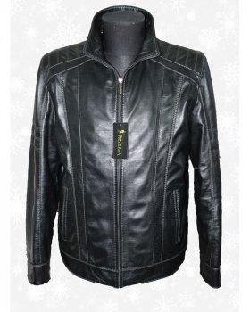 Куртка чоловіча шкіряна Verona 122_1 Чорний